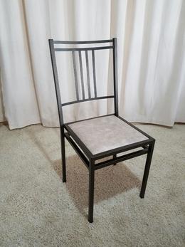 Cadeira de Ferro Empilhável Barcelona Dourada
